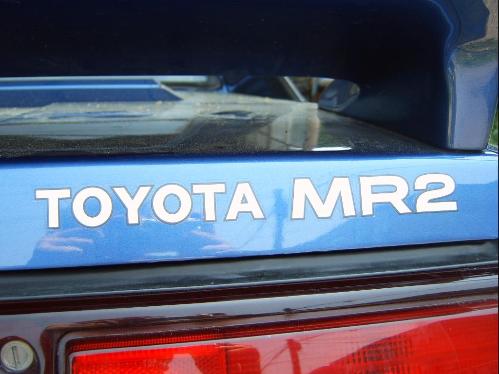 1984-89 Toyota MR2 ''TOYOTA